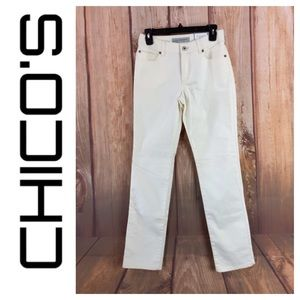 ➡️NWT Chico's Ultimate Fit Slim Leg Jean Size 2/XS